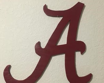 Alabama Crimson Tide Wood Wall Art