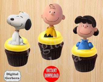 Snoopy Cake Topper Etsy Ca