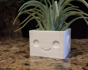 Cute Garden Mini Robot Planter Indoor and Outdoor Succulents *Many Colors!