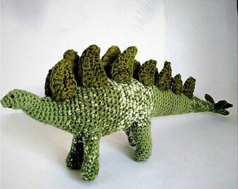 Dinosaur fabric stegosaurus