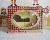 1960s Little Betty Midinette Miniature Sewing Machine with Original Box
