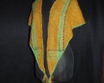 Hand woven Mohair shawl