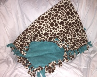 Giraffe Blanket