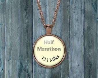 Half Marathon charm, Half marathon charm, 13.1charm, half marathon necklace, 13.1 necklace,13.1 ,Half marathon, quote charms