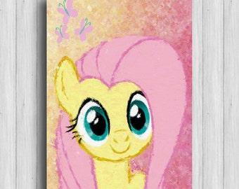 Fluttershy my little pony poster kids decor