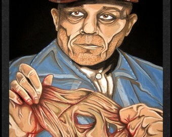 Ed Gein is Card Number 87 from the New Serial Killer Trading Cards