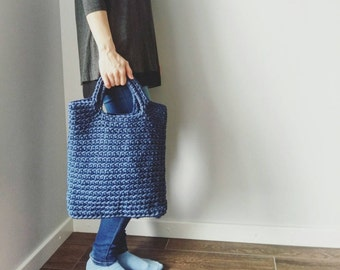 Crochet bag made by the order