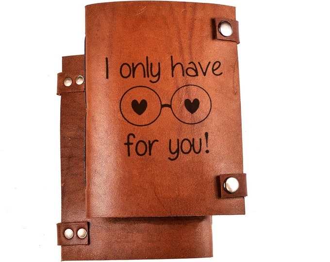 Writing journal - personalized leather journal - personalized notebook - leather diary - gifts for writers
