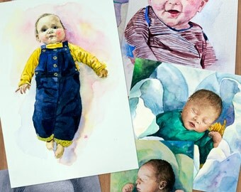 Custom Baby and Child portraits