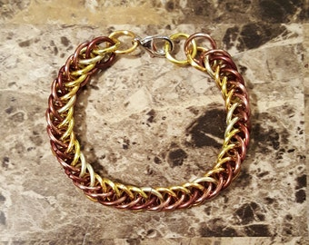 Persian 4 in 1 Bracelet in Gold & Bronze Tones