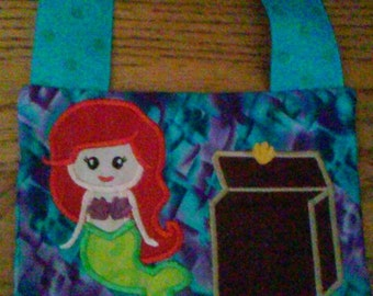 Tooth Fairy Pillow  Mermaid Ariel inspired