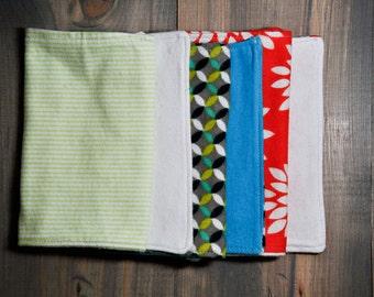 Burp Cloth: Set of Three