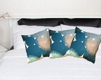 Handmade patterned cushion