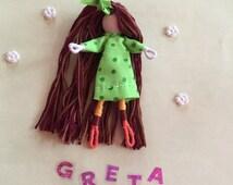 Alphabet Dolls - G Greta