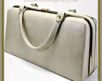 Vintage Dover Box Purse, Vintage Box Purse, Vintage Vinyl Box Purse, Vintage Handbag,Vintage Dover Handbag,Vintage Vinyl Handbag, Pocketbook