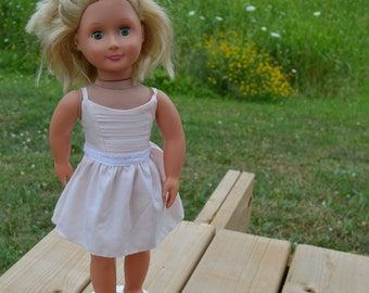 18 inch American Girl Doll Sleeveless Sundress