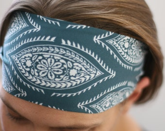 Fitness Headband, Yoga Headband, Workout Headband, No Slip Headband, Running Headband, Stretch Headband, Headband