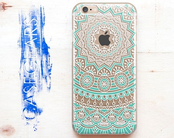 Mandala iPhone 7 case iPhone 5 case iPhone 6s iPhone 5s Case iPhone 6 Case Mandala iPhone 6s case iPhone Case iPhone TPU CGCP0057