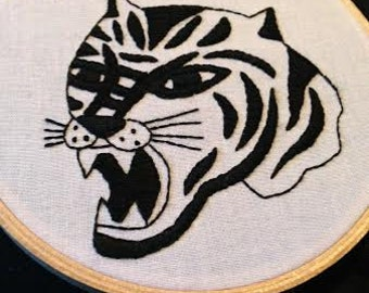 Tiger embroidery *piss off*