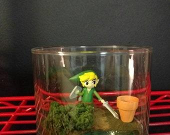 Legend of Zelda Link Scene