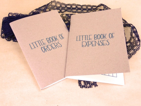 A6 little books of business, Account book, cash flow books, order planner, accounting book, business accounts, business stationery