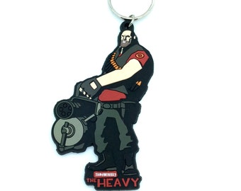 """Team Fortress 2: """"The Heavy"""" Keychain"""