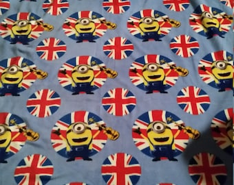 Minion Fleece Blanket and Matching Pillowcase