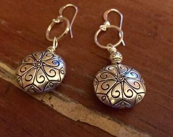 Simple Silver Earrings