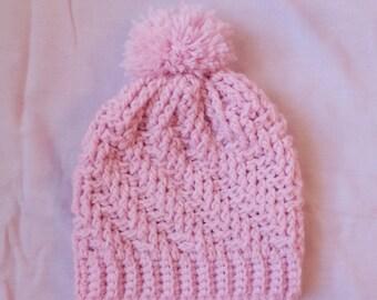 Crochet Textured Beanie