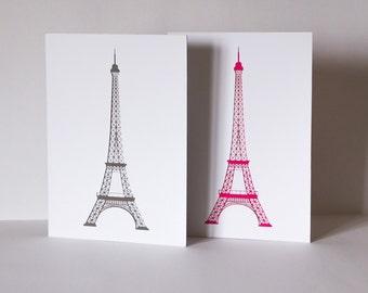 Eiffel Tower - Paris - lasercut
