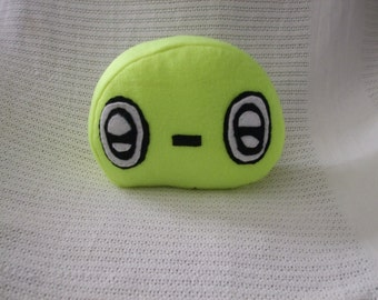 Anime pillow,plush child's emoji pillow, small pillow,Mini BUUGEY,neon yellow pillow, free shipping