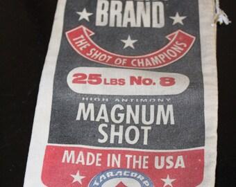 Vintage Lawrence Brand Magnum Shot Bag