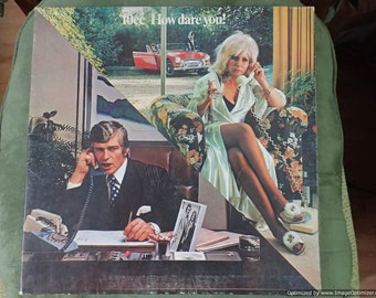 10cc How dare you! Vintage Vinyl Record