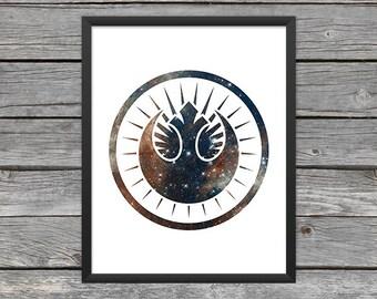 New Jedi Order Poster New Jedi Order Print New Jedi Order Art Star Wars Art Star Wars Print Outer Space Art Galaxy Art Nebula Art Download