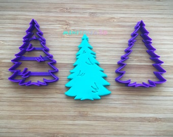 Christmas Tree-04 Cookie Cutter