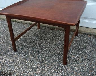 Danish Modern teak Dux coffee table Denmark