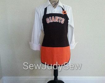 San Francisco Giants Apron, SF Giants, Baseball, SF Giants Apron, Apron, MLB Logo Apron,
