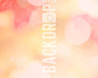 Photography Backdrop- Dreamy Bokeh