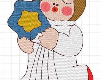 baby stella thun machine embroidery