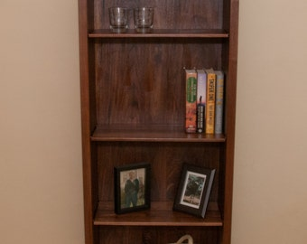 Handmade Wood Bookcase