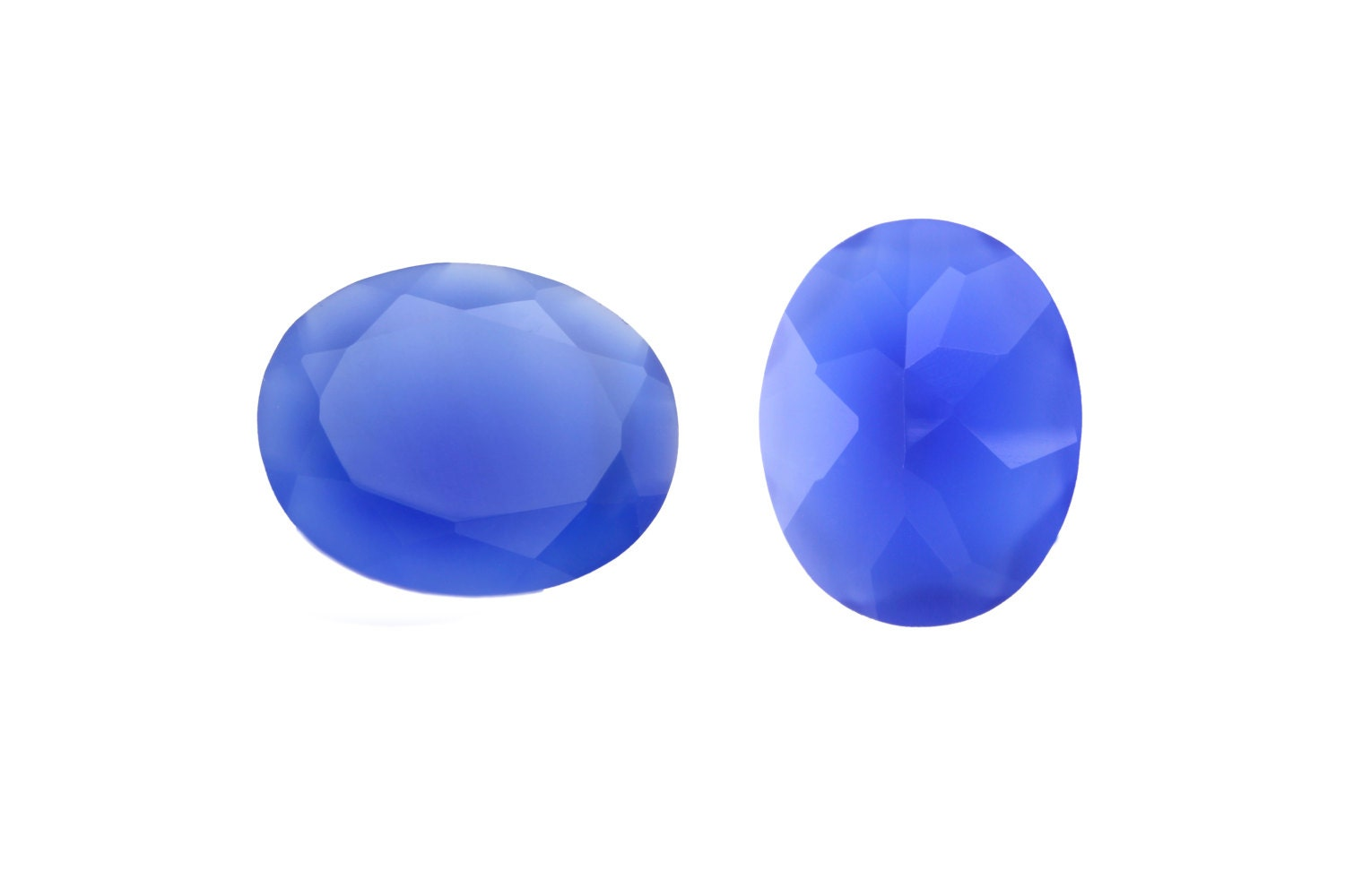 What Color Is Onyx Gemstone : Blue onyx gemstone oval cut choose your size mm