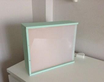 Light box. Lightbox. Montessori