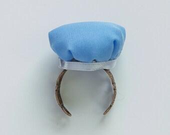 Blue Pin Cushion Ring, Pincushion