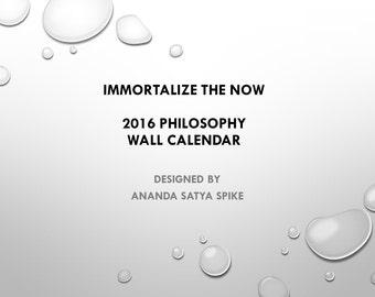 2016 Philosophy Wall Calendar