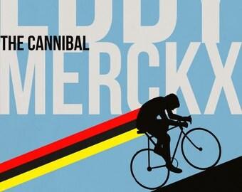 Eddy Merckx Print