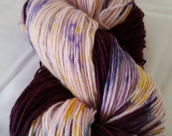 Hand Dyed 4 ply Sock Yarn