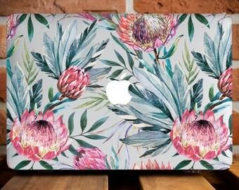 Tropical Flowers MacBook Pro Retina 13 Case MacBook Air 11 Cover MacBook Pro 15 Case MacBook Hard Cover Cacti MacBook Air 13 Cover WCm152