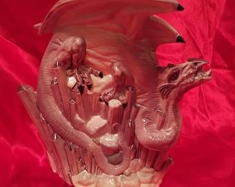 Amethyst Crystal Dragon
