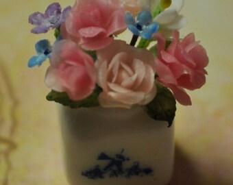 Dollhouse Miniature Flowers---Roses