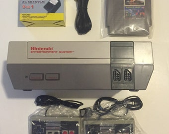 Nintendo Entertainment System Console NES With one Game